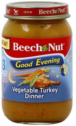 Beech Nut Stage 3 Vegetable Turkey Dinner - 6 oz