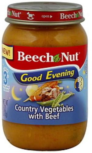 Beech Nut Stage 3 Country Vegetables with Beef - 6 oz