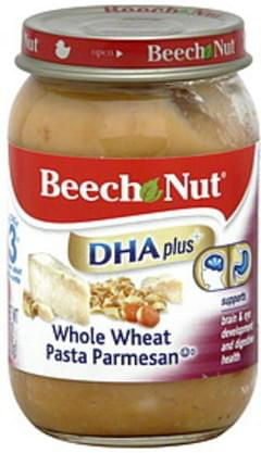 Beech Nut Whole Wheat Pasta Parmesan Stage 3