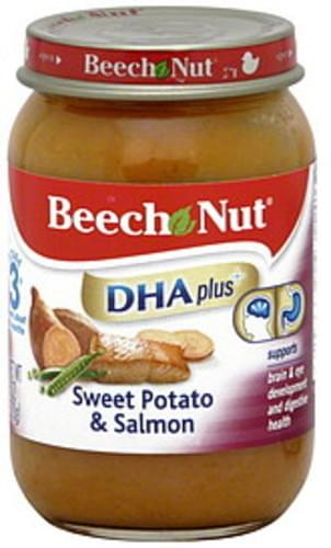 Beech Nut Stage 3 Sweet Potato & Salmon - 6 oz