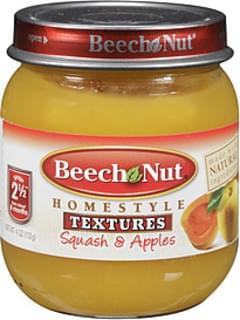 Beech Nut Squash and Apples Baby Food