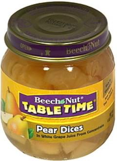 Beech Nut Pear Dices