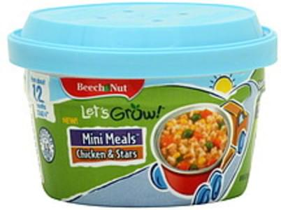 Beech Nut Mini Meals Stage 4, Chicken & Stars