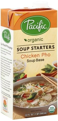 Pacific Soup Starters, Chicken Pho Soup Base - 32 oz