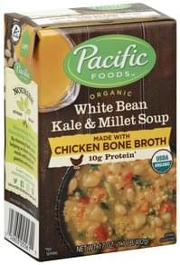 Pacific Kale & Millet Soup Organic, White Bean