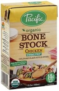 Pacific Bone Stock Unsalted, Chicken