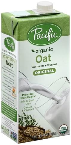 Pacific Oat, Original Non-Dairy Beverage - 32 oz