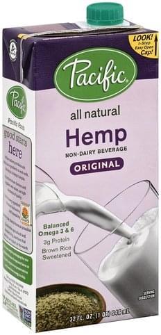 Pacific Hemp, Original Non-Dairy Beverage - 32 oz