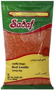 Sadaf Lentils Red