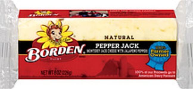 Borden Cheese Natural Pepper Jack