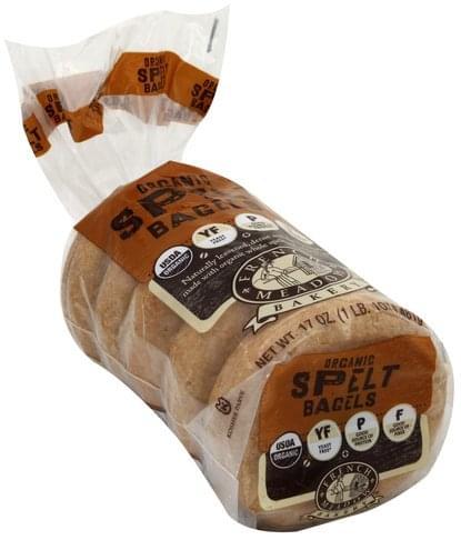 French Meadow Organic Spelt Bagels - 17 oz