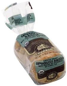 French Meadow Bagels Sprouted, Certified Organic