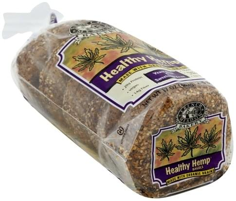 French Meadow Healthy Hemp Bagels - 5 ea