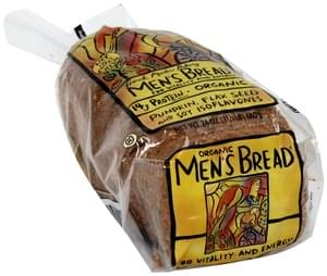 Mens Bread Bread Organic Men's for Vitality and Energy