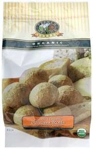 French Meadow Sprouted Organic Peasant Rolls With Ezekiel Grains