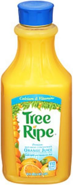 Tree Ripe Tree Ripe Premium Orange Juice With Calcium & Vitamins Premium With Calcium & Vitamins