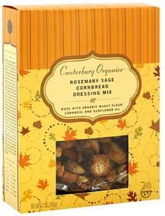 Canterbury Organic Dressing Mix Rosemary Sage Cornbread