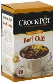 Crock Pot Delicious Dinners Beef Chili