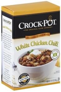 Crock Pot Delicious Dinners Mix White Chicken Chili