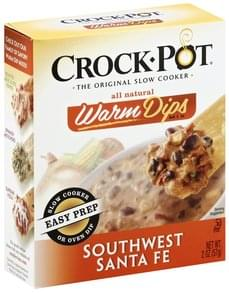 Crock Pot Warm Dips Mix Southwest Santa Fe