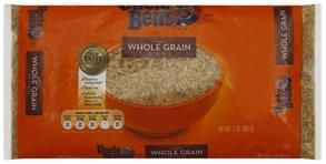 Uncle Bens Brown Rice Whole Grain, Natural