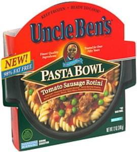 Uncle Bens Pasta Bowl Tomato Sausage Rotini, Mild