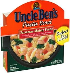 Uncle Bens Pasta Bowl Parmesan Shrimp Penne