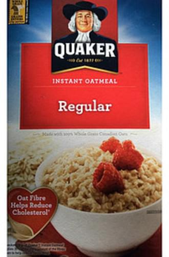 Quaker Regular Instant Oatmeal - 28 g