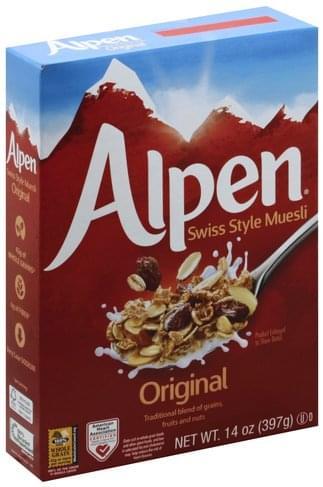 Alpen Swiss Style, Original Muesli - 14 oz