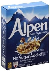 Alpen Muesli Swiss Style