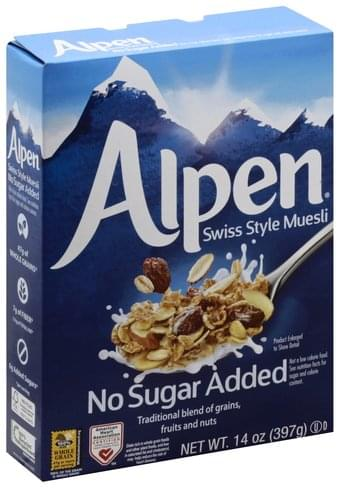 Alpen Swiss Style Muesli - 14 oz