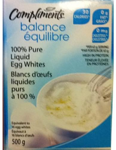 Compliments Liquid Egg Whites - 63 g