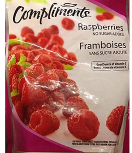 Compliments Raspberries - 140 g