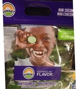 Sunset Mini Cucumbers