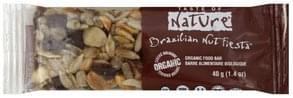Taste Of Nature Food Bar Organic, Brazilian Nut Fiesta