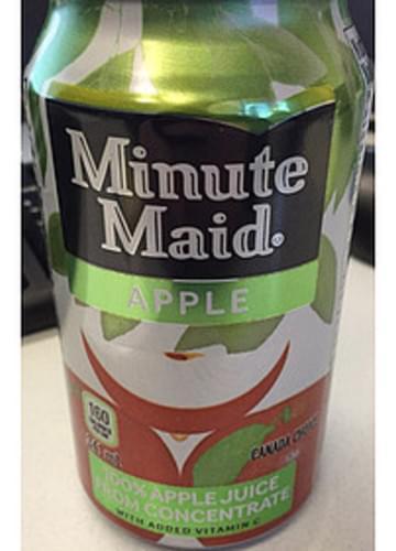 Minute Maid Apple Juice - 341 ml