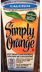 Simply Orange Orange Juice with Calcium