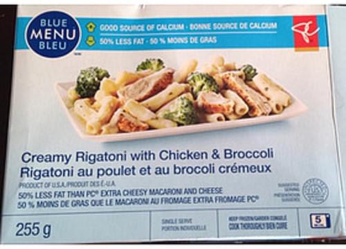 Blue Menu Bleu Creamy Rigatoni with Chicken & Broccoli - 255 g