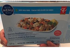 Blue Menu Bleu Quinoa Southwest Chicken