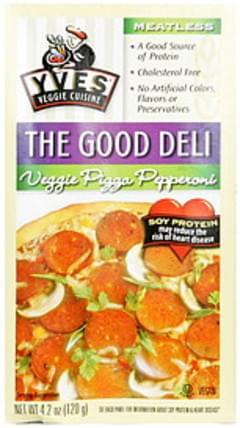 Yves Veggie Pizza Pepperoni