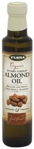 Flora Almond Oil Organic, Unfiltered & Unrefined