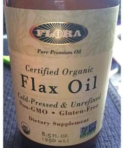 Flora Certified Organic Flax Oil Dietary Supplement