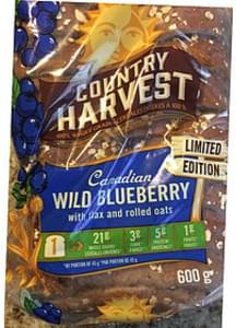 Country Harvest Canadian Wild Blueberry