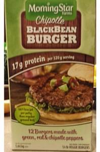 MorningStar Farms Veggie Burgers Chipotle Black Bean