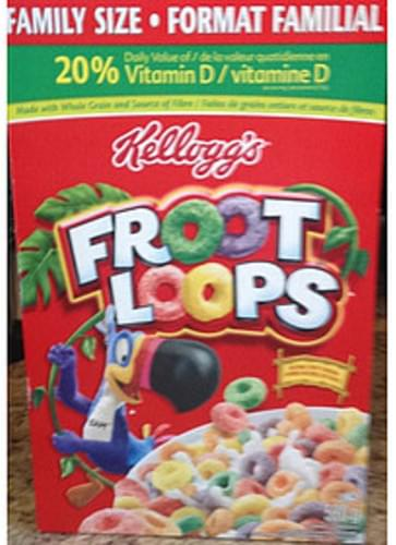 Kellogg's Froot Loops Cereal - 27 g