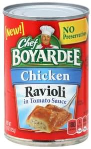 Chef Boyardee Ravioli Chicken, in Tomato Sauce