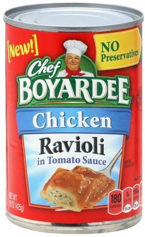 Chef Boyardee Chicken, in Tomato Sauce Ravioli - 15 oz
