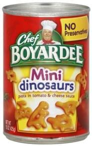 Chef Boyardee Mini Dinosaurs