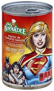 Chef Boyardee Pasta in Tomato Sauce, Justice League