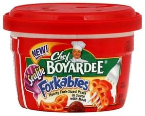 Chef Boyardee Pasta Hearty Fork-Sized, SeaLife, in Sauce with Meat